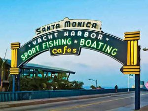 santa monica pier hollywood tour from las vegas