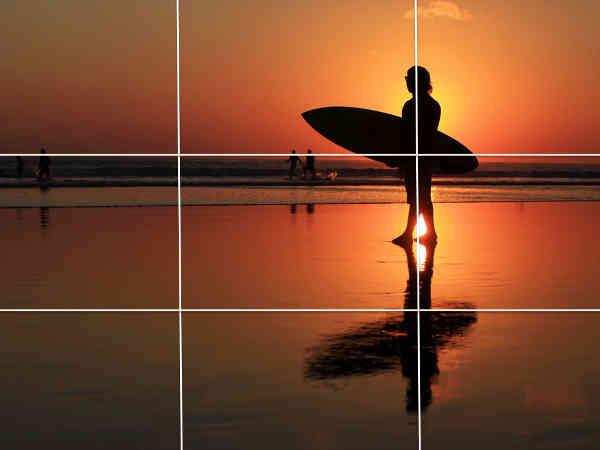 smartphone photo tips las vegas day trip rule of thirds