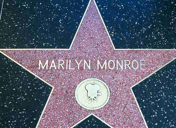 marilyn monroe walk of fame hollywood tour from las vegas