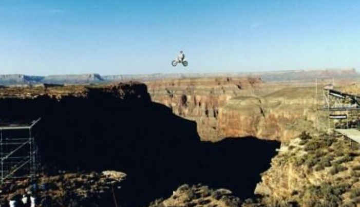 robbie knievel grand canyon jumps quartermaster point hualapai nation