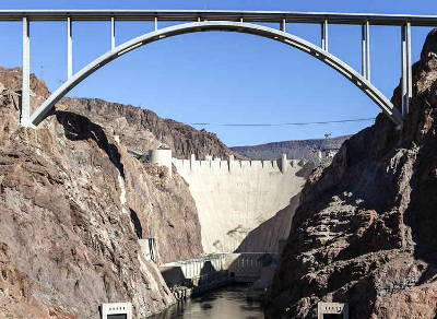 hoover dam tour from las vegas bypass bridge